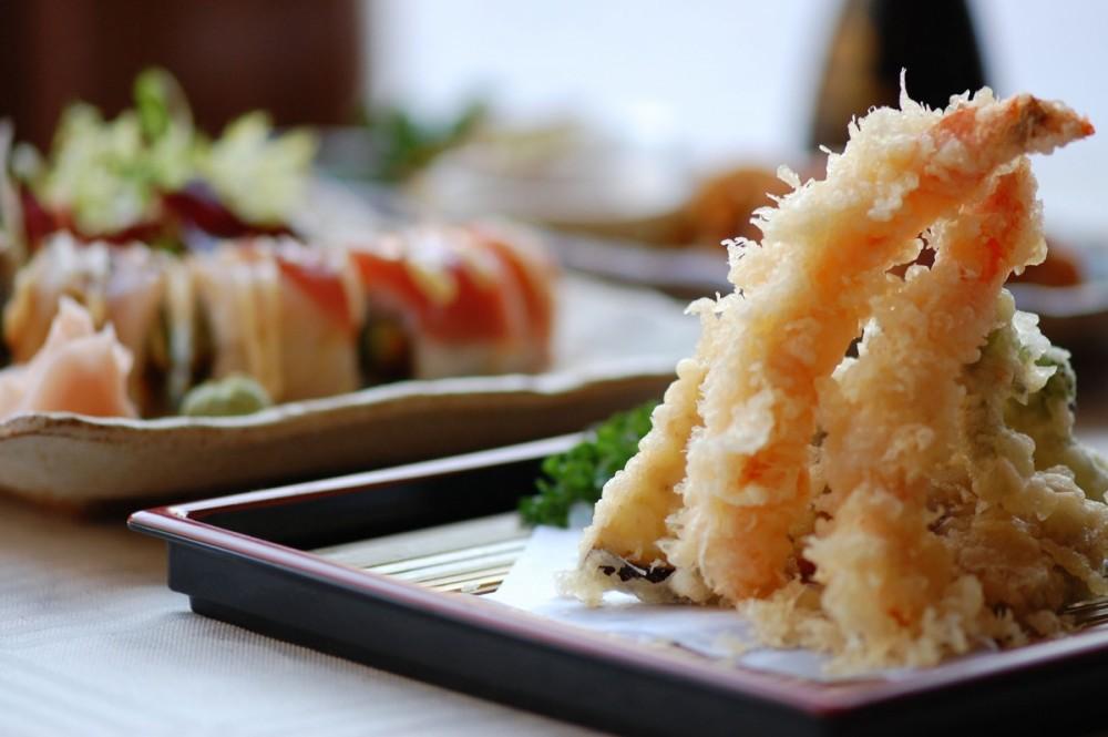 ebi tempura frituur Sakura Mura